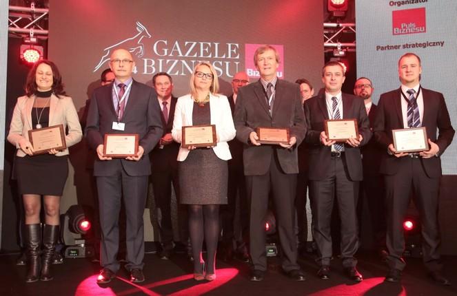gb2014 Wyróżnienie w rankingu Gazele Biznesu 2014