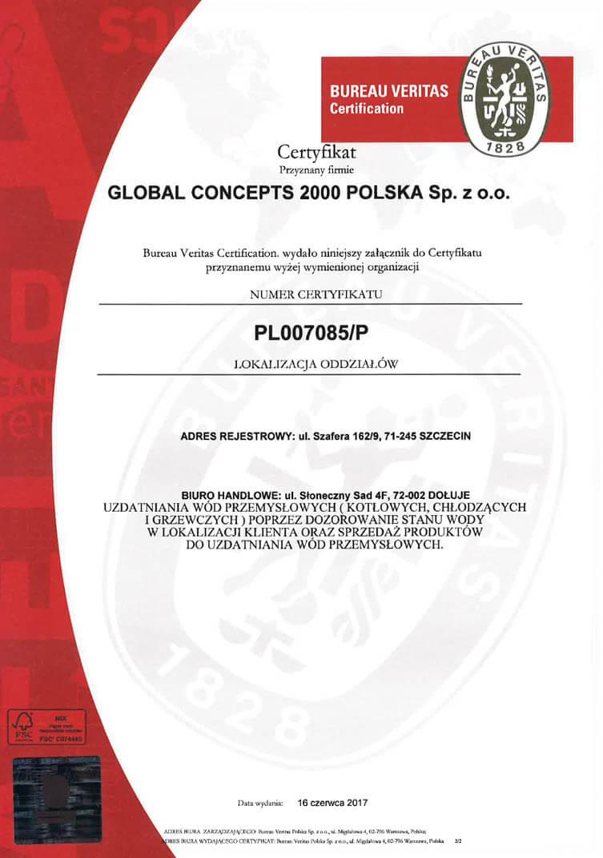 2 1 Certyfikaty jakości