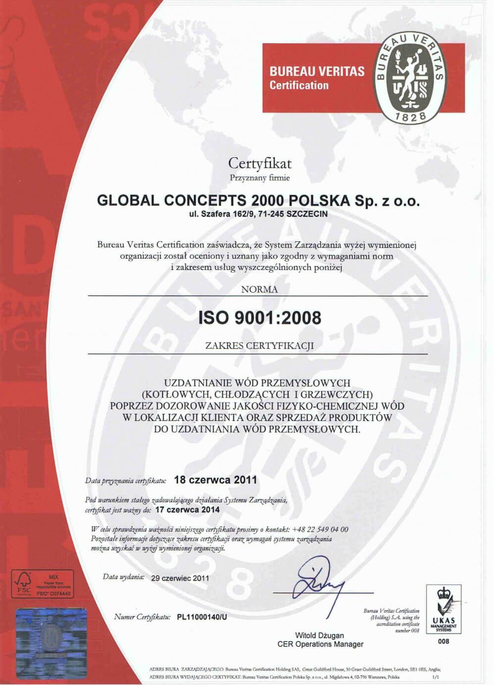 2pl Certyfikaty jakości