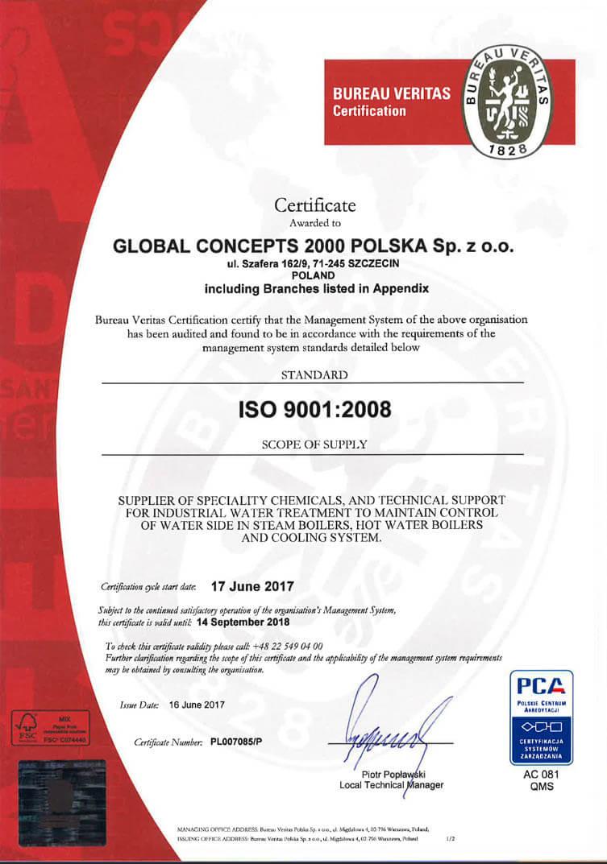 3 1 Certyfikaty jakości