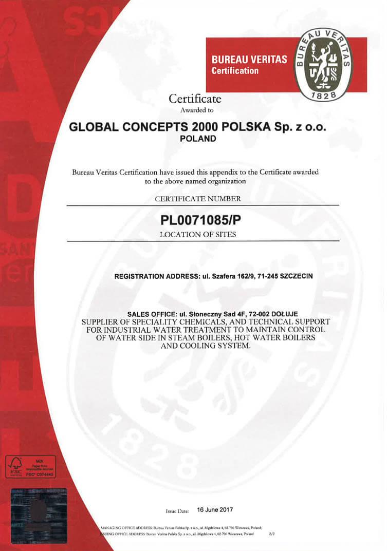 4 1 Certyfikaty jakości