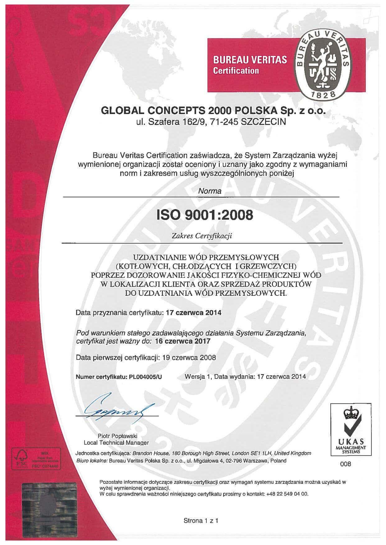 global page 001 Certyfikaty jakości