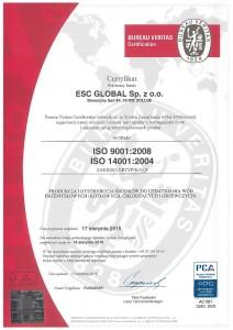 escglobal iso page 001 212x300 Uzyskanie certyfikatu ISO 9001:2008 i ISO 14001:2004 dla spółki produkcyjnej