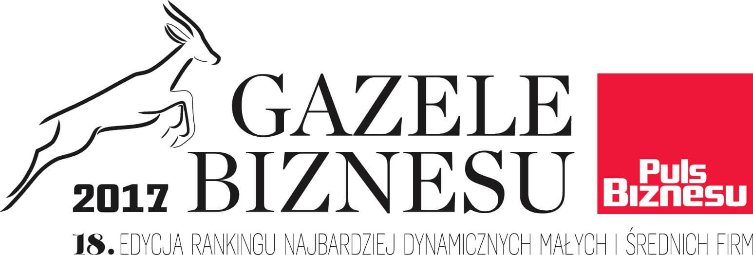 Gazele 2017 CMYK Wyróżnienie w Gazelach Biznesu 2018